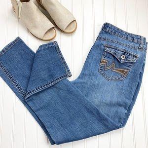 Cato Lighter Wash Straight Leg Jeans 16 R576